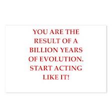 evolution Postcards (Package of 8)