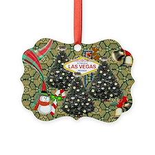 Las Vegas Christmas Trees Ornament