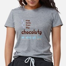 neg_chocolate_step_away.p Womens Tri-blend T-Shirt