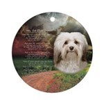 Why God Made Dogs - Havanese Ornament (Round)