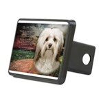Why God Made Dogs - Havanese Rectangular Hitch Cov