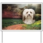 Why God Made Dogs - Havanese Yard Sign