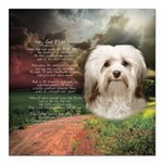 Why God Made Dogs - Havanese Square Car Magnet 3