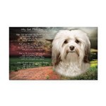 Why God Made Dogs - Havanese Rectangle Car Magnet