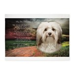 Why God Made Dogs - Havanese 5'x7'Area Rug