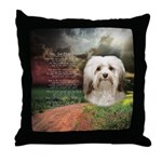 Why God Made Dogs - Havanese Throw Pillow