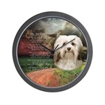 Why God Made Dogs - Havanese Wall Clock