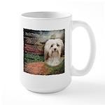 Why God Made Dogs - Havanese Large Mug