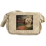 Why God Made Dogs - Havanese Messenger Bag