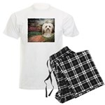 Why God Made Dogs - Havanese Men's Light Pajamas