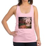 Why God Made Dogs - Havanese Racerback Tank Top
