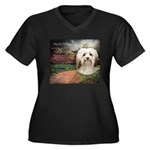 Why God Made Dogs - Havanese Women's Plus Size V-N