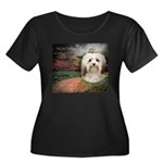 Why God Made Dogs - Havanese Women's Plus Size Sco