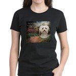 Why God Made Dogs - Havanese Women's Dark T-Shirt