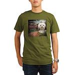 Why God Made Dogs - Havanese Organic Men's T-Shirt