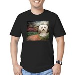 Why God Made Dogs - Havanese Men's Fitted T-Shirt