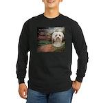 Why God Made Dogs - Havanese Long Sleeve Dark T-Sh