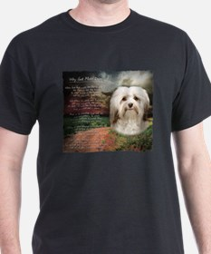 Why God Made Dogs - Havanese T-Shirt