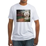 Why God Made Dogs - Havanese Fitted T-Shirt