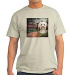 Why God Made Dogs - Havanese Light T-Shirt
