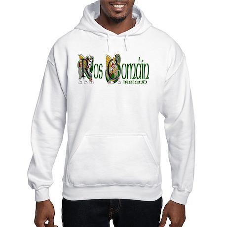Roscommon Dragon (Gaelic) Hooded Sweatshirt