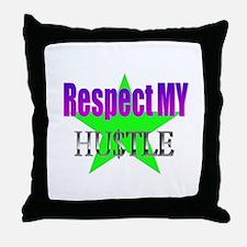 Respect Hustle Throw Pillow