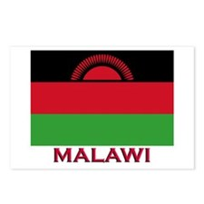 Malawi Flag Gear Postcards (Package of 8)
