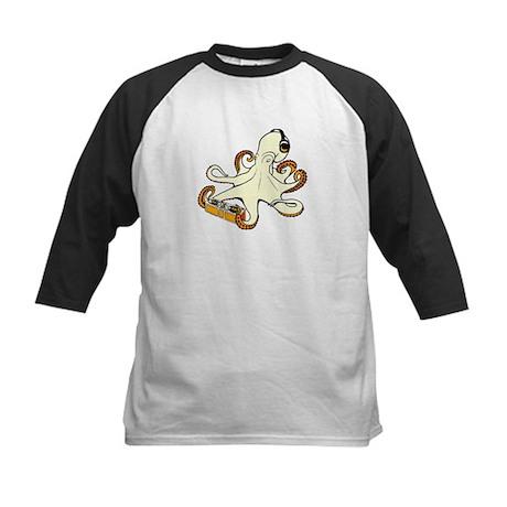 Octo-DJ Kids Baseball Jersey