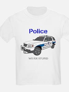 Police SUV T-Shirt