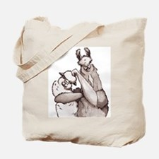 Sibling Rivalry Tote Bag
