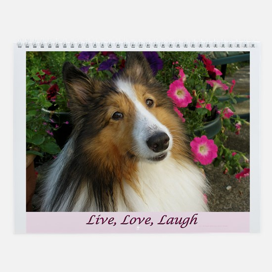 Live Love Laugh Wall Calendar