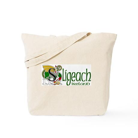 Sligo Dragon (Gaelic) Tote Bag