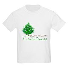 Green Ribbon Xmas Tree T-Shirt