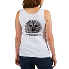 Cute Beautiful owl Women's Tank Top