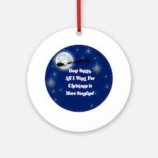More Seaglass Christmas Ornament