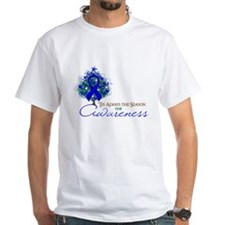 Blue Ribbon Xmas Tree Shirt
