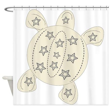 Turtle Shower Curtain