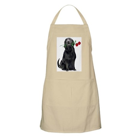 black_lab_with_roses.jpg Apron