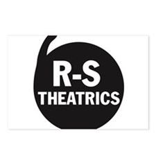 R-S Theatrics Logo Black Postcards (Package of 8)