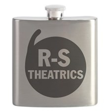 R-S Theatrics Logo Black Flask
