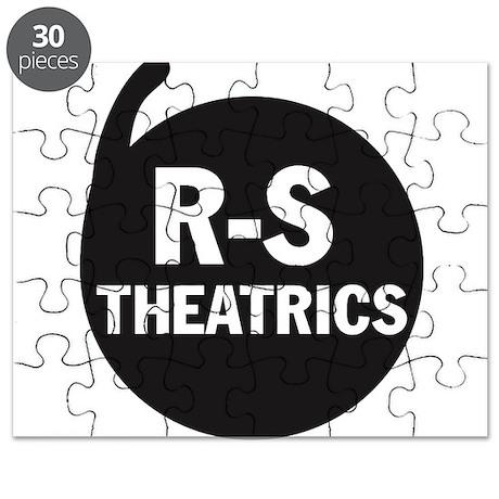 R-S Theatrics Logo Black Puzzle