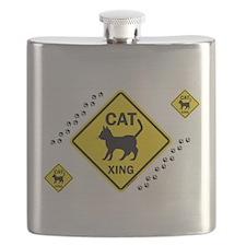Cat X-ing (B) Flask