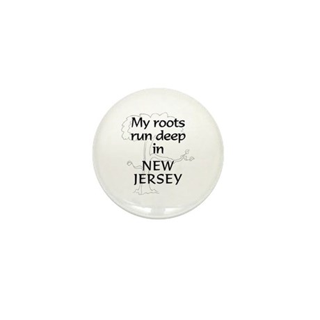 New Jersey Roots Mini Button (10 pack)