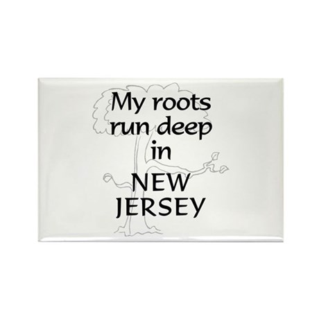 New Jersey Roots Rectangle Magnet (10 pack)