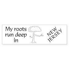 New Jersey Roots Bumper Bumper Sticker