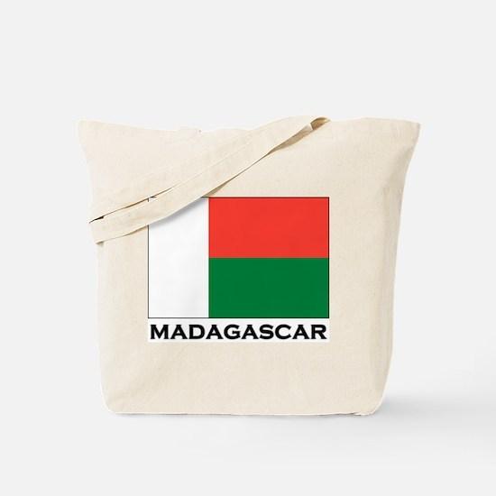 Madagascar Flag Stuff Tote Bag
