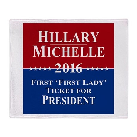 Hillary Clinton / Michelle Obama 2016 Stadium Bla