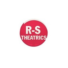 R-S Theatrics Logo Red Mini Button