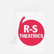 R-S Theatrics Logo Red Greeting Card