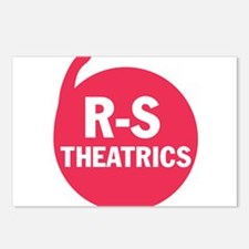 R-S Theatrics Logo Red Postcards (Package of 8)